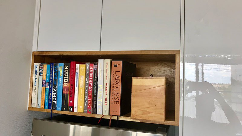 Bespoke Oak bookcase