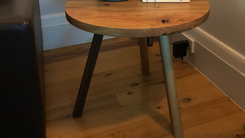 Custom built Spotted Gum coffee table